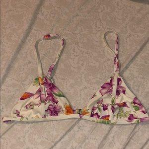 Frankie's floral bikini top